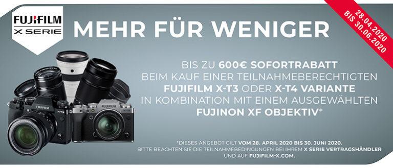 Fujifilm X-T4/X-T3 Kombiangebote