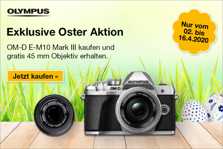 Olympus Oster-Aktion