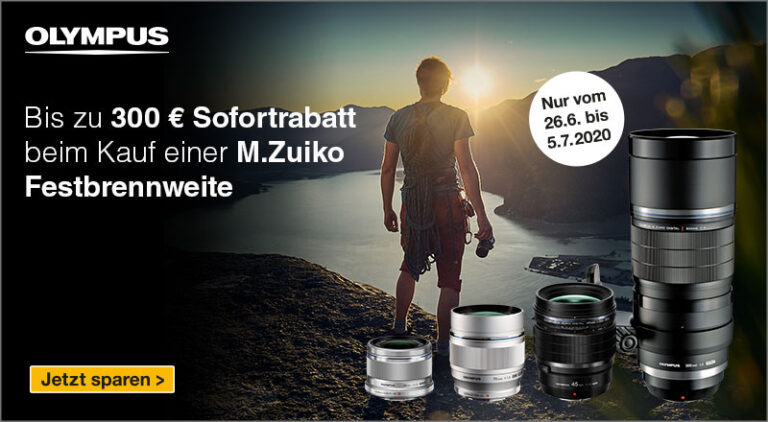 Olympus Prime Lens Promotion