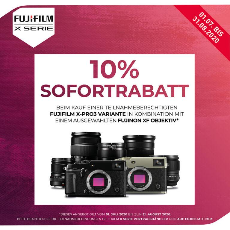 Fujifilm X-Pro 3 – 10% Rabatt erhalten