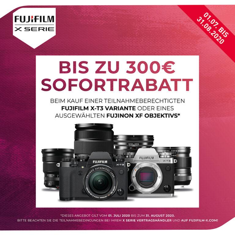 Fujifilm X-T3 und XF-Aktionen