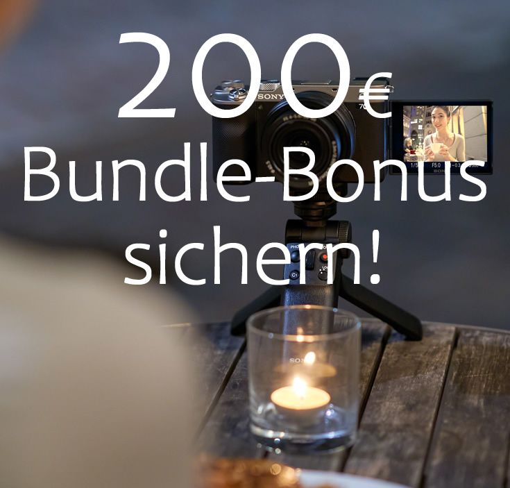 Sony Alpha 7C – Bundle-Bonus sichern!