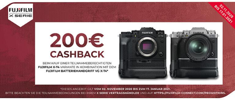 Fujifilm X-T4 Aktion