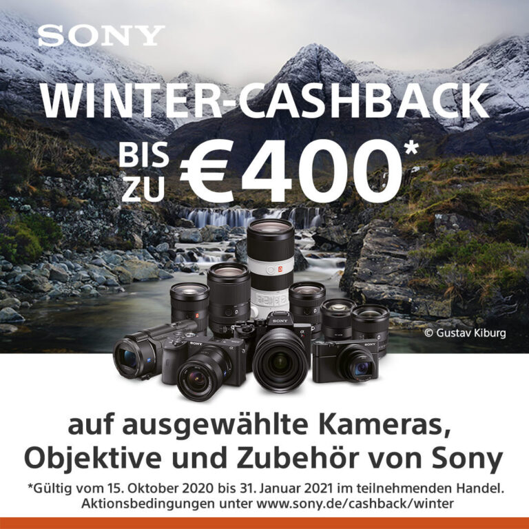 Sony Winter-Cashback