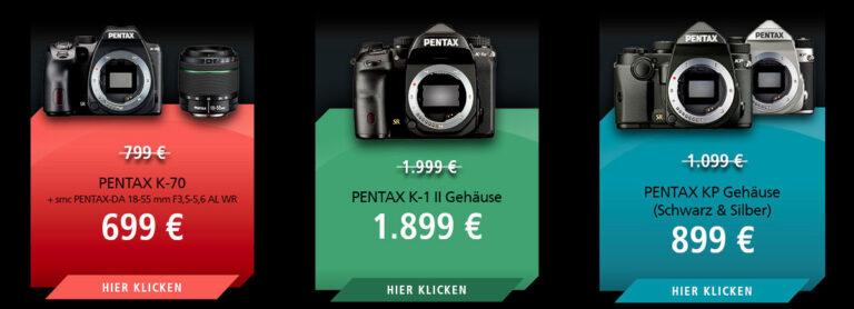 Neue Aktion bei Ricoh/Pentax