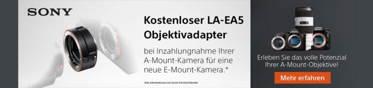 Sony LA-EA5 gratis erhalten!