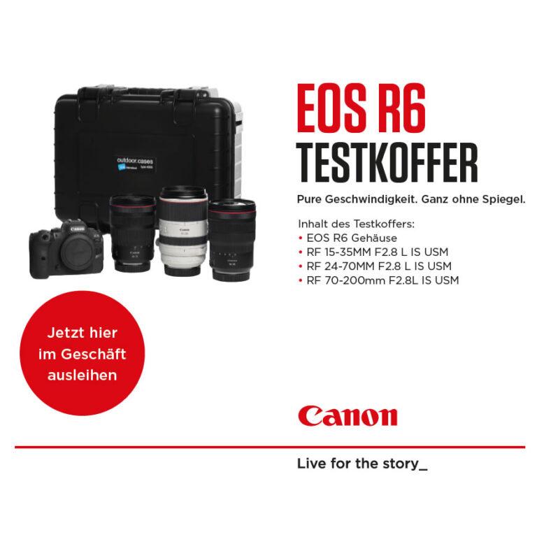 Canon EOS R6 Testkoffer ausleihen
