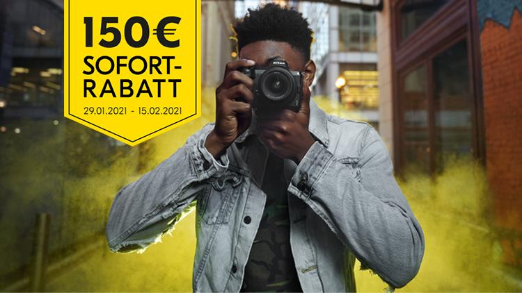 Nikon Z 5 Sofortrabatt sichern!