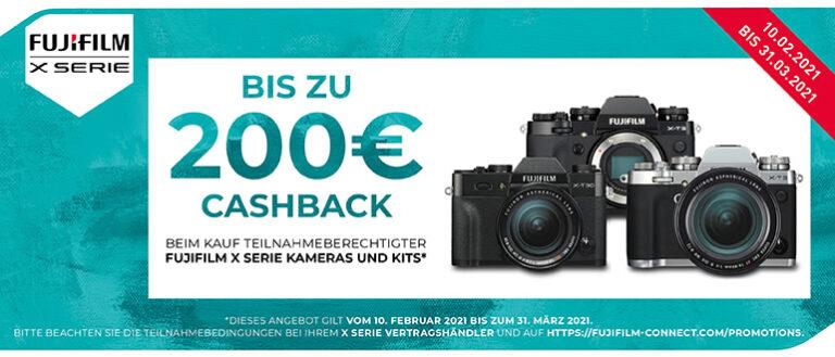 Fujifilm X-T3 & X-T30 Cashback
