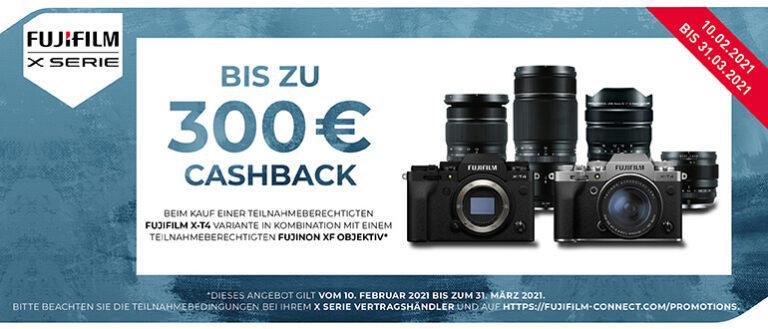 Fujifilm X-T4 Cashback
