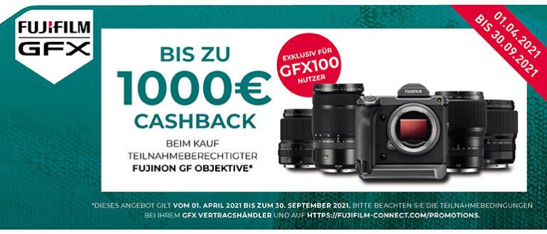 Fujifilm GFX100 Objektiv Cashback