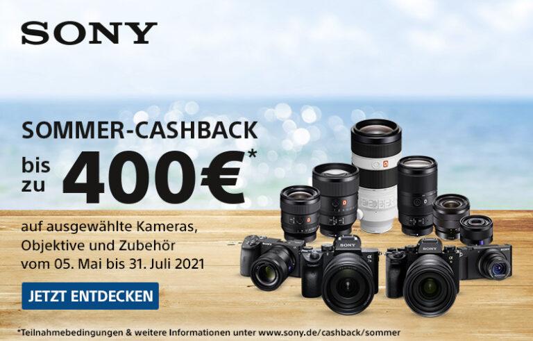 Sony Sommer Cashback 2021