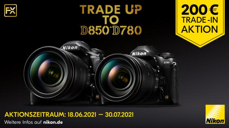 Nikon 200€ Trade-In Bonus sichern