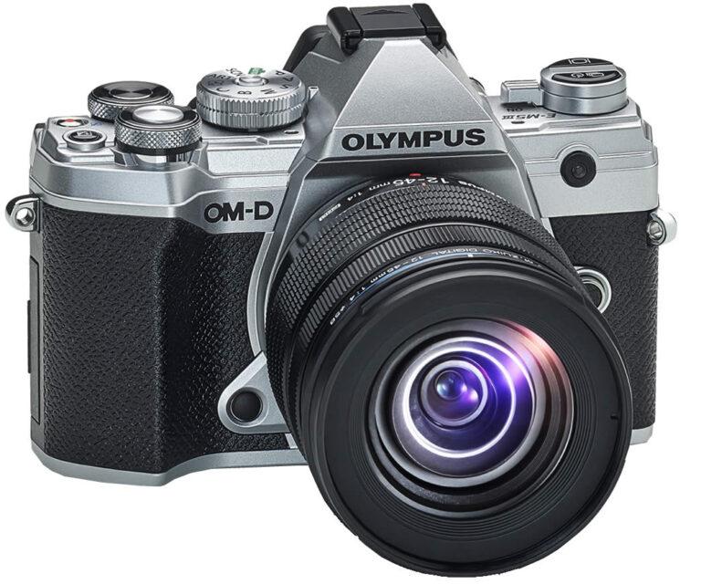 Olympus E-M5 Mark III Aktion