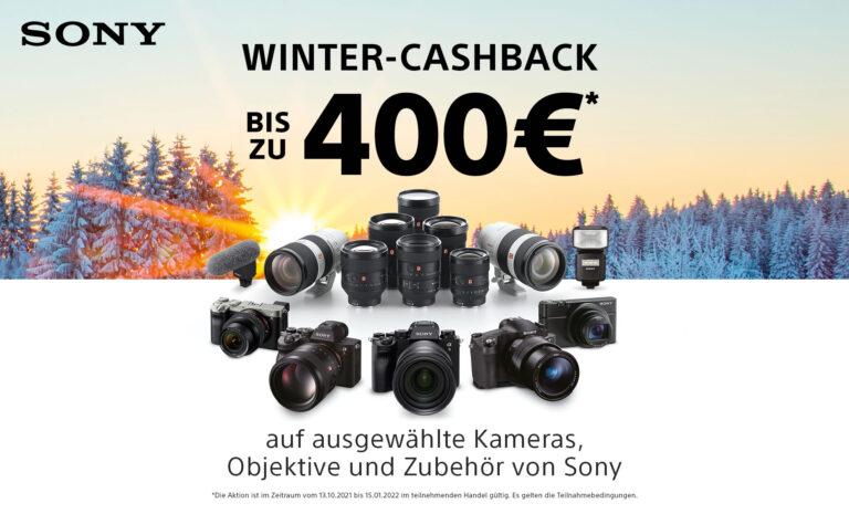 Sony Winter Cashback 2021/2022